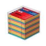 Блок бумажный, цветной, 9x9х9 см, 650 листов, в пластиковой подставке HERLITZ артикул 01600253