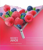 Тетрадь на кольцах ACTION! BERRY JUICE кл., 2 смен. блока, обл. 7БЦ,  ф. А5, 160 л., AN 16016/5
