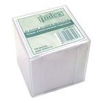 Блок бумажный, белый, в пластиковой подставке, 700 листов, размер 9х9х9 см арт I9900