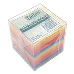 Блок бумажный, цветной, в пластиковой подставке, 700 листов, размер 9х9х9 см артикул I9902
