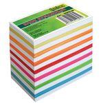 Блок бумажный, непроклеенный, белый/цветной, 9х5,5 см, 700 листов INDEX артикул I9905/N