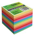 Блок бумажный, непроклеенный, цветной, 9х9 см, 700 листов INDEX артикул I9910/N