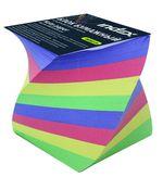 Блок бумажный, четырехцветный, спираль, разм. 8х8х8 см, офсет 80 гр, IPC888cS