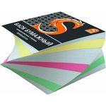 Блок бумажный, четырехцветный, спираль, разм. 8х8х4 см, офсет 65 гр, SPC884cS