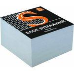 Блок бумажный, белый, разм. 9х9х5 см, офсет 65 гр, SPC995