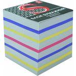 Блок бумажный, четырехцветный, разм. 9х9х9 см, офсет 65 гр, SPC999c