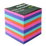 Блок бумажный, четырехцветный, разм. 9х9х9 см, офсет 80 гр, I9910/N/R