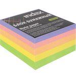 Блок бумажный, четырехцветный, разм. 8х8х5 см, офсет 80 гр, IPC885c