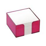 Блок бумажный СЛИВА, в пласт. подставке, разм. 9х9х5 см, ПВ76